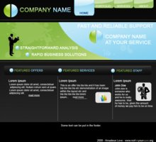 Link to0005 business web layout psd