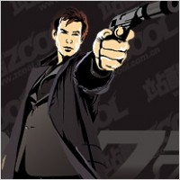 Link to007 film personalities vector material