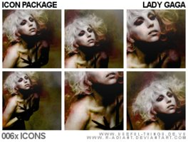 Link to06x lady gaga icon package