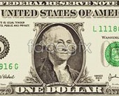 Link to1 bills vector