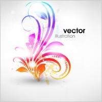 Link to1 pattern vector fashion symphony