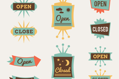 Link to10 and rest in the opening paragraph tag vector