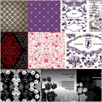 Link to10 beautiful pattern vector