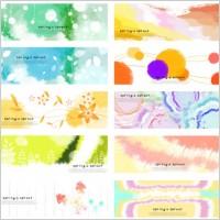 Link to10 fantasy spring background psd
