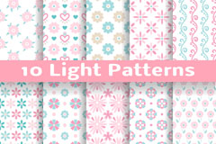 Link to10 light color vector background