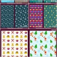 Link to10 lovely christmas element vector base map case background