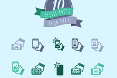 Link to10 neat camera icon vector