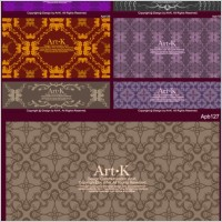 Link to10 retro elegant lace pattern vector