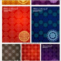 Link to10 tile background pattern vector