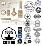 Link tovector label cotton 100%