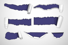 Link to11 white paper banner vector