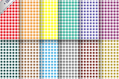 Link to12 colour plaid background vector