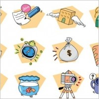 Link to12 free vector style icons