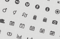 Link to126 icon set psd
