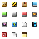 Link to16px icon set