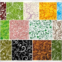 Link to19, over the tile pattern vector background material