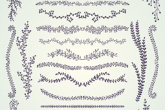 Link to19 tree lace design vector graph