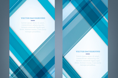 Link to2 blue plaid banner vector