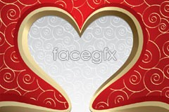 Link tovector pattern heart-shaped gorgeous 2