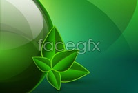 Link to2 green abstract background vector map