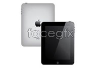 Link to2 ipad product vector graphics