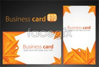 Link to2 maple leaf chinese restaurant picture card background vector