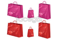 Link to2 shopping bags of vector