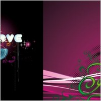 Link to2 the trend vector love theme
