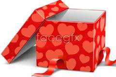 Link to2 very beautiful holiday gift box vector