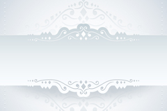 Link to2 white paper lace design vector