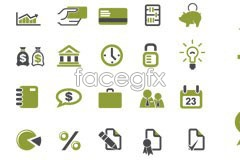 Link to20 commercial financial vector icons