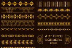 Link to20 golden lace design vector
