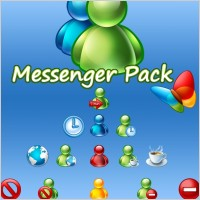 Link to20 icons for messenger icons pack