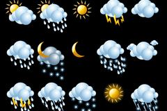 Link to20 weather icon vector