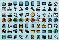 Link to200 multimedia web page icons