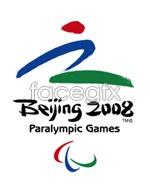 Link to2008 paralympics logo vector