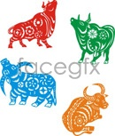 Link to2009 cattle vector