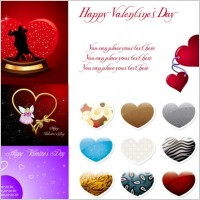 Link to2010 valentine day vector