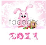 Link to2011 angel bunny vector