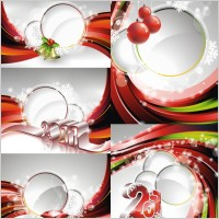 Link to2011 new year background image vector