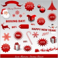 Link to2011 new year christmas icon vector