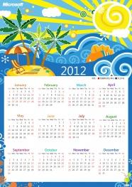 Link to2012 calendar desktop pictures to download