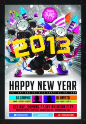 Link to2013 dynamic creative poster design materials