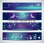 Link to2013 new year bann vector