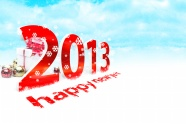 Link to2013 new year creative fonts hd pictures