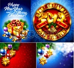 Link to2013 new year poster vector