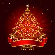 Link to2014 abstract christmas tree design vector 01