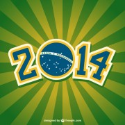 Link to2014 brazil world football tournament vector background 05 free