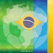 Link to2014 brazil world football tournament vector background 07 free