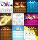 Link to2014 calendar calendar vector